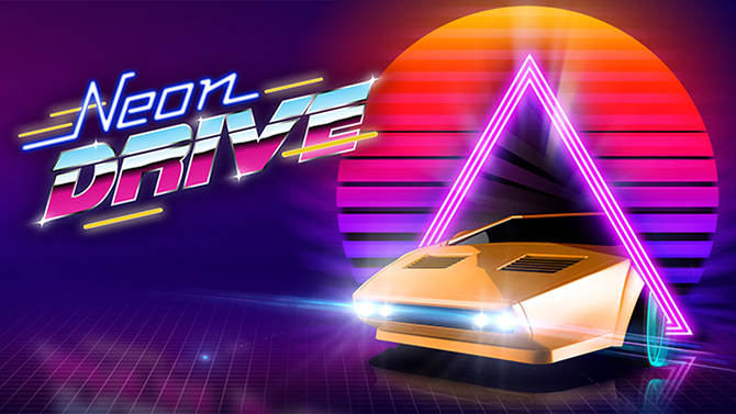 New Retro Games – Retro Synthwave
