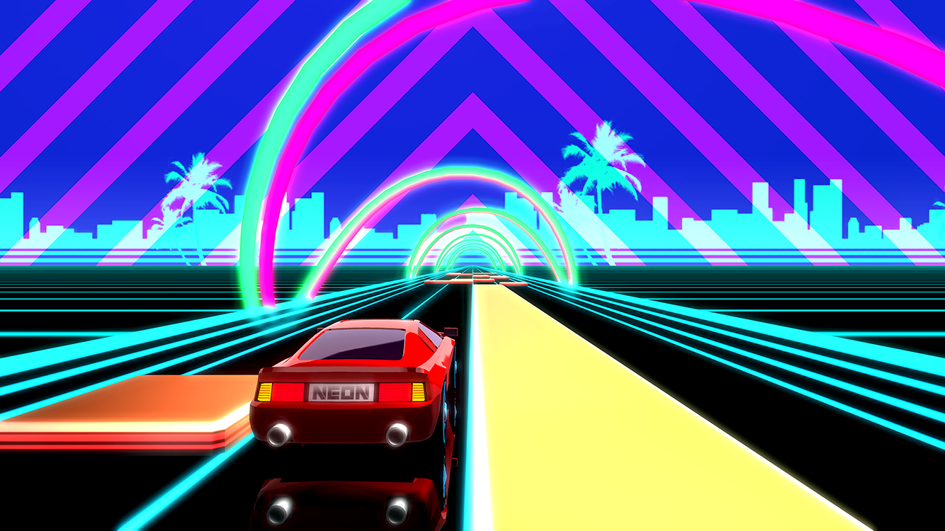 Racing Games – Retro Synthwave