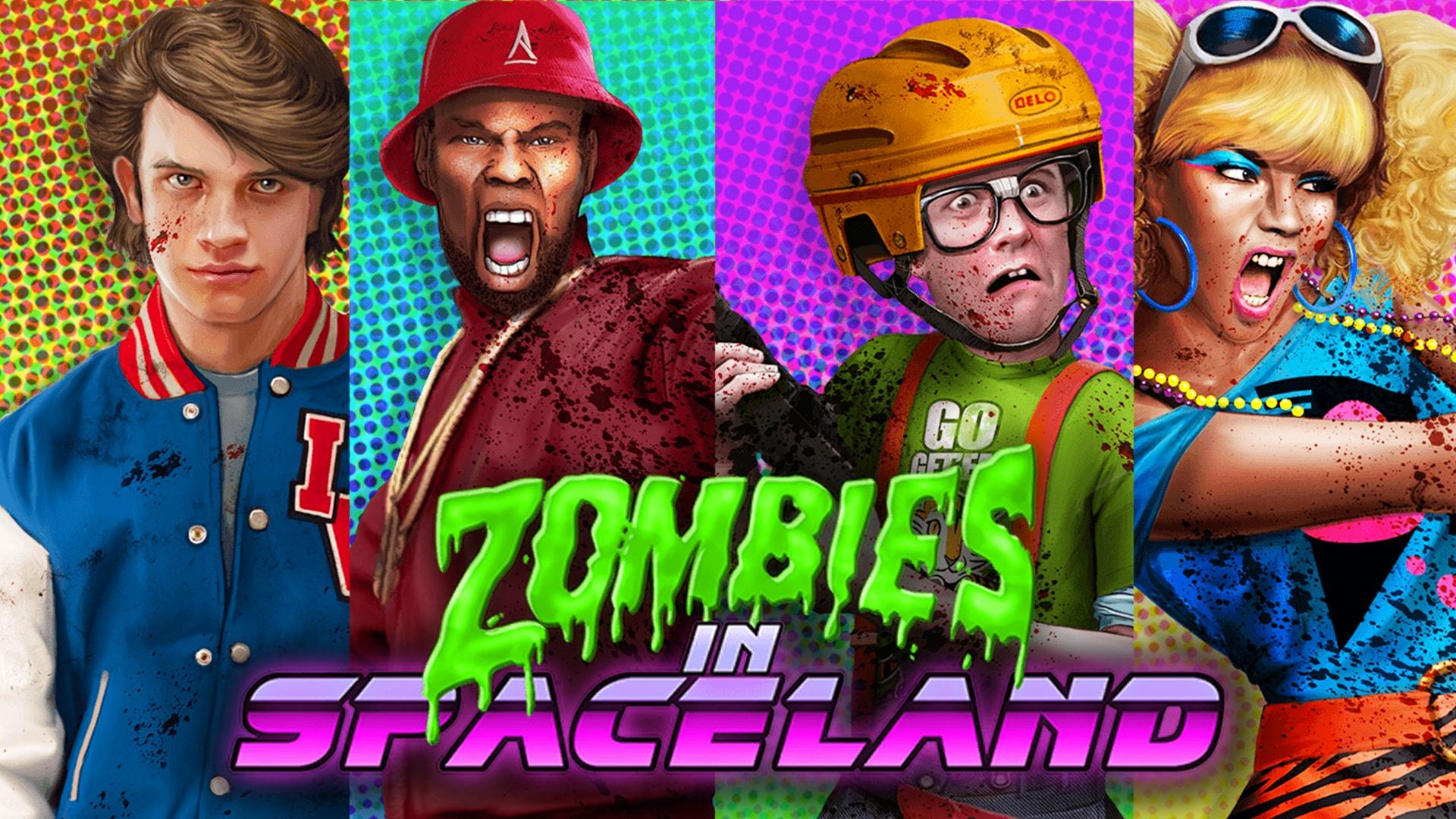 Call Of Duty With Zombies In Spaceland Retro Synthwave
