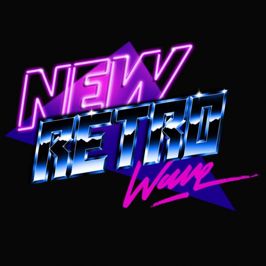 New Retro Wave logo by Overglow