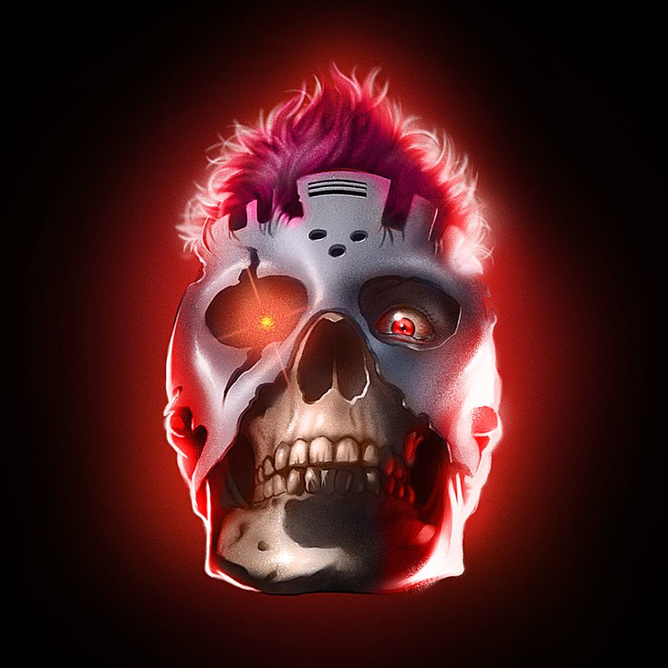Vicious Skull By Blood Chrome Films Tv Shows Albums Check