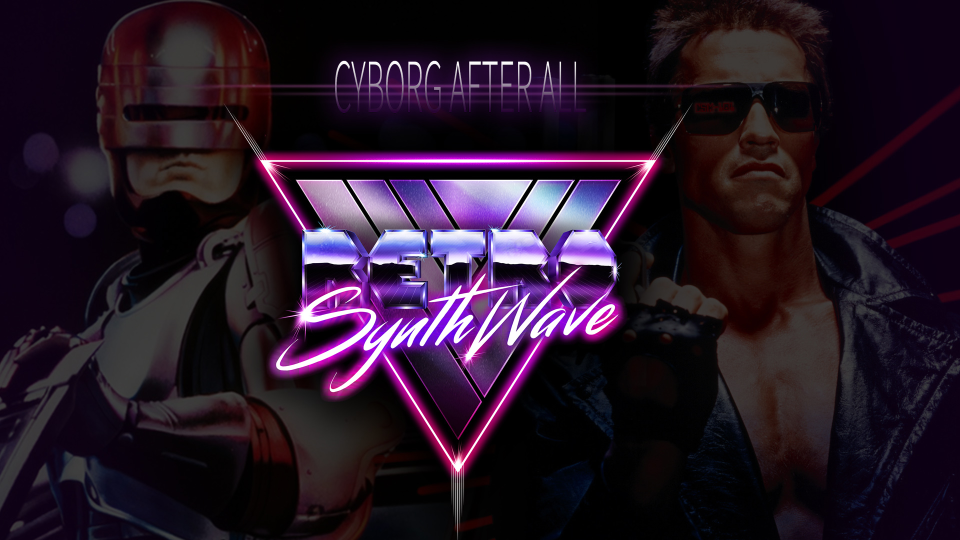 Exclusive Mixtape Cyborg After All Retro Synthwave