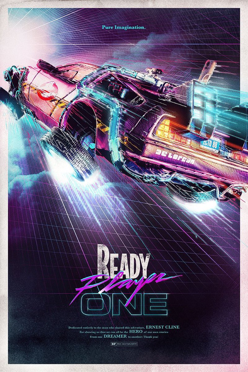 Movie Posters Retro Synthwave