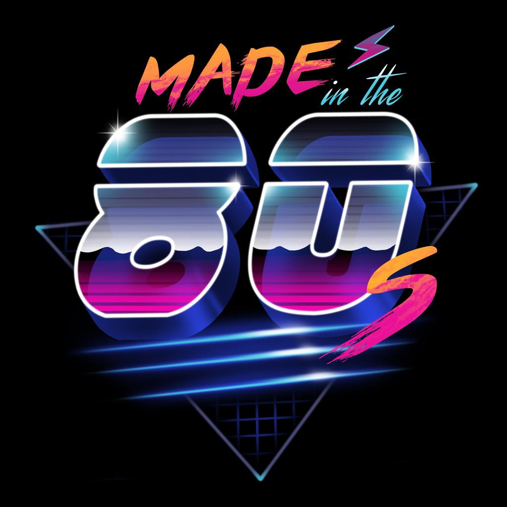 awesome logos � retro synthwave